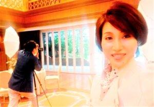 女性会員さまが2年目のリベンジに向けてプロフィール写真撮影会!! 気持ちを新たに...
